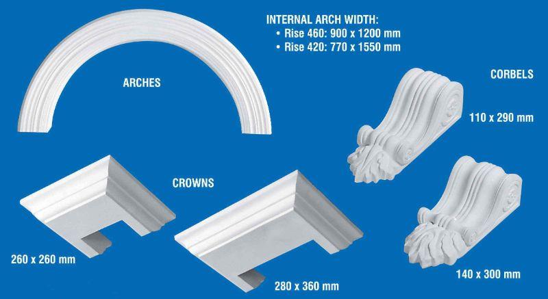 Arches & Corbel Set