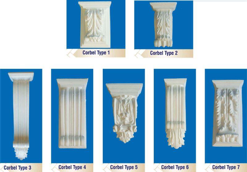 Corbel Types 1-7